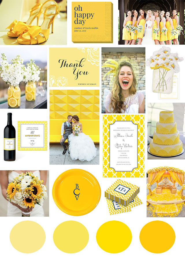 yellow-wedding