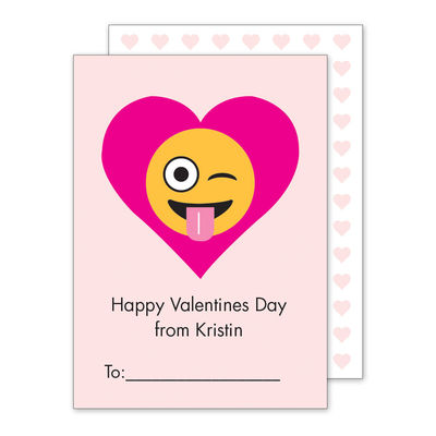 new emoji valentine exchange cards studio notes