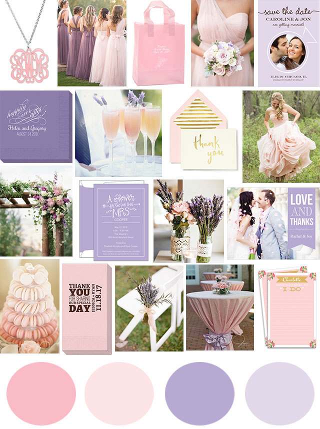 Wedding Inspiration: Blush and Lavender Studio Notes