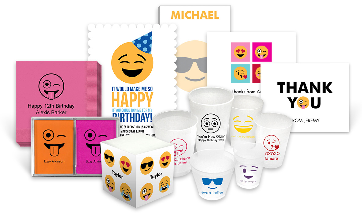 Emoji GIfts at The Stationery Studio