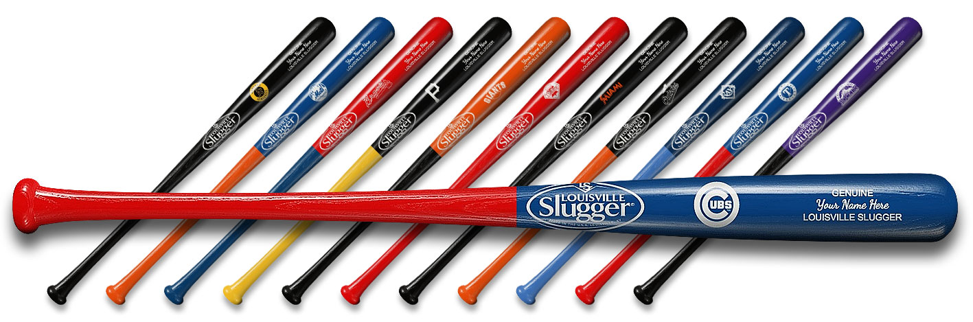 Personalized Louisville Slugger Baseball Bats