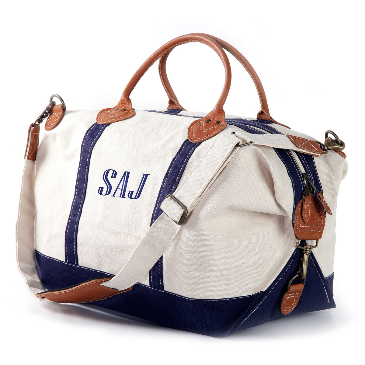 Personalized Trimmed Weekender Bag
