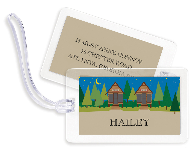 Personalized Camp Bag Tags
