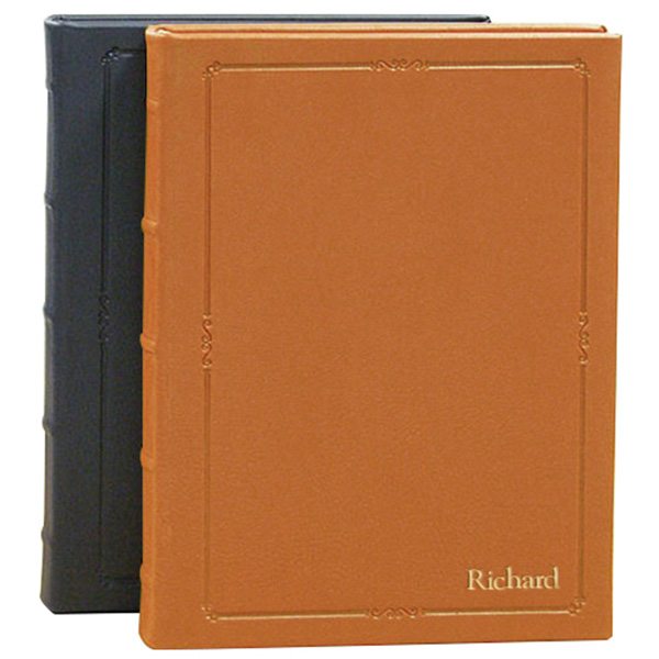Personalized Hardcover Leather Journal