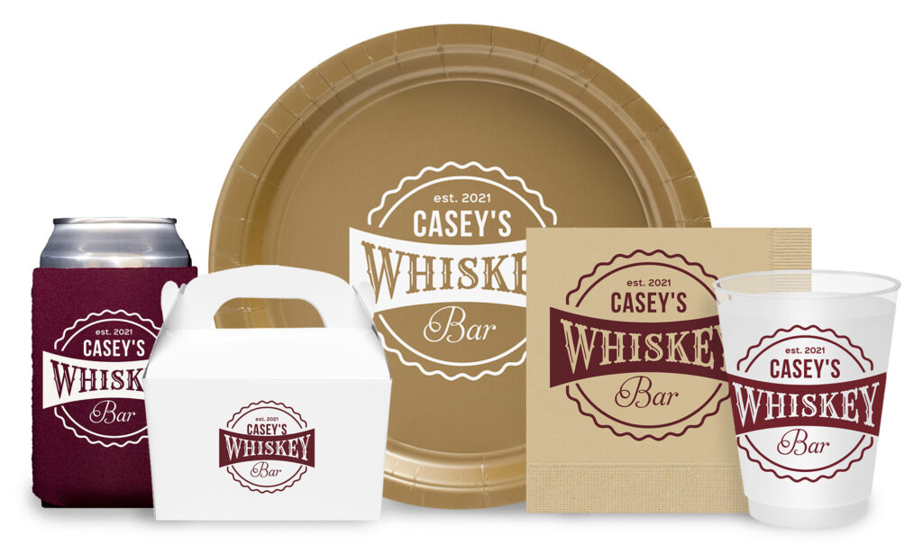 Whiskey Bar Label Collection